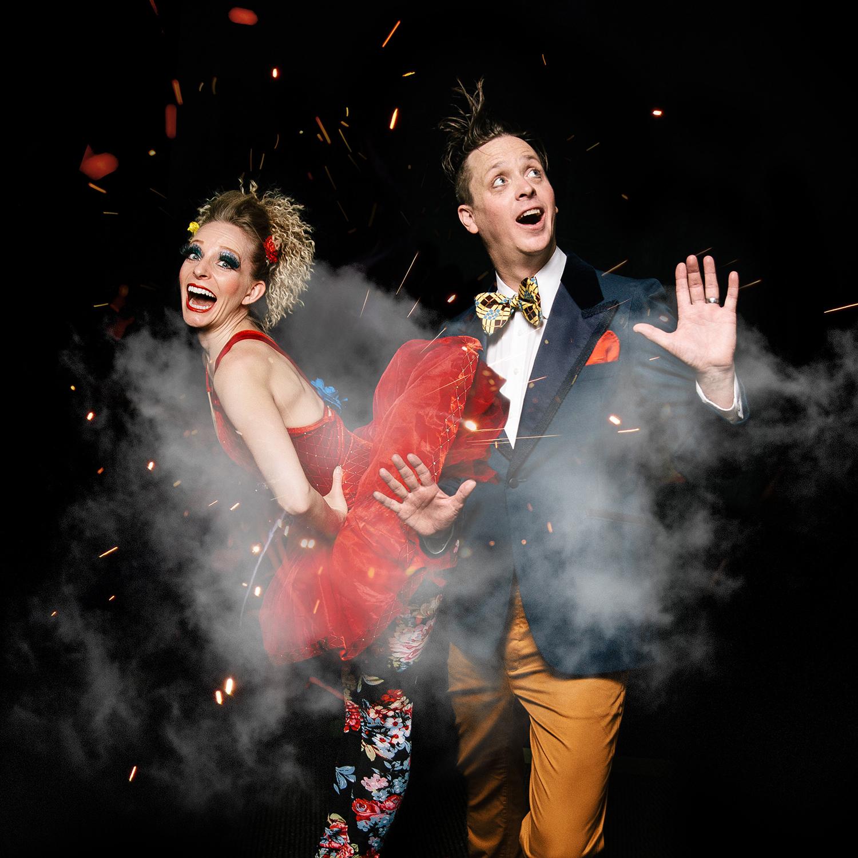 3 - Matt and Heidi Morgan of the modern circus show Cabinet of Wonders